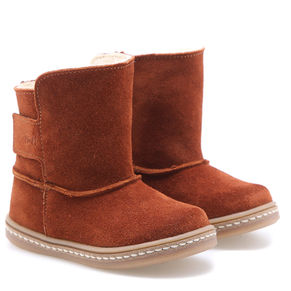 emel beginner winter boot rust