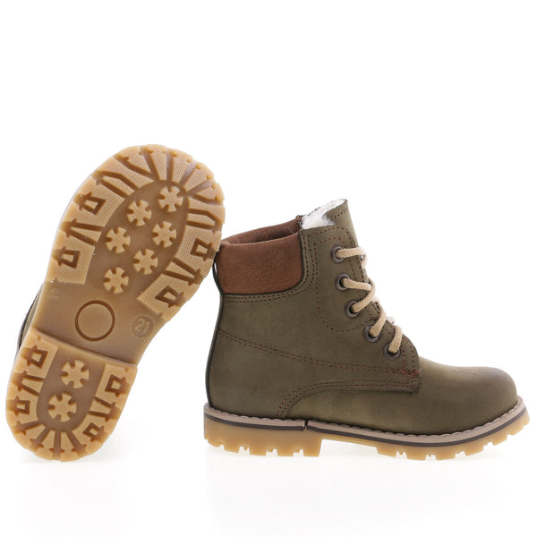 emel beginner winter shoe khaki