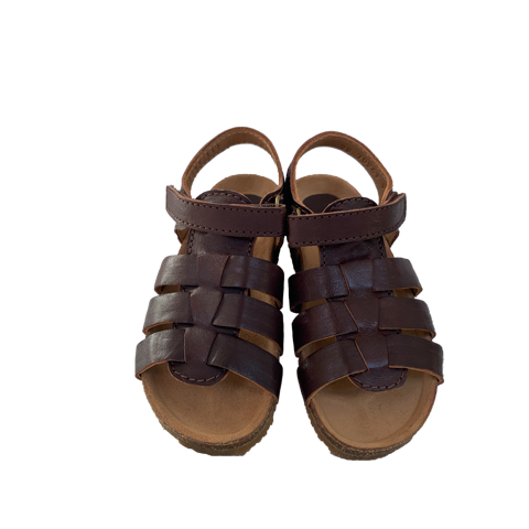 bisgaard sandal asger brown - little pearls by shoe chou