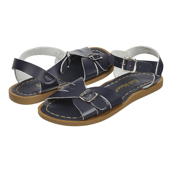 saltwater sandals classic adult navy - little pearls by shoe chou
