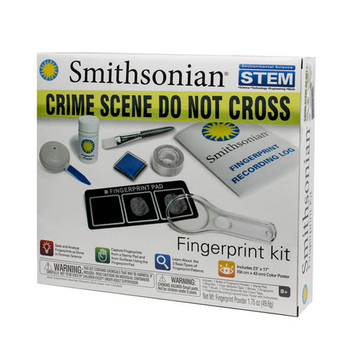 Fingerprint Kit by the Smithsonian Collection