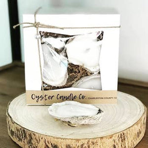 Oyster Candles - Set of 3