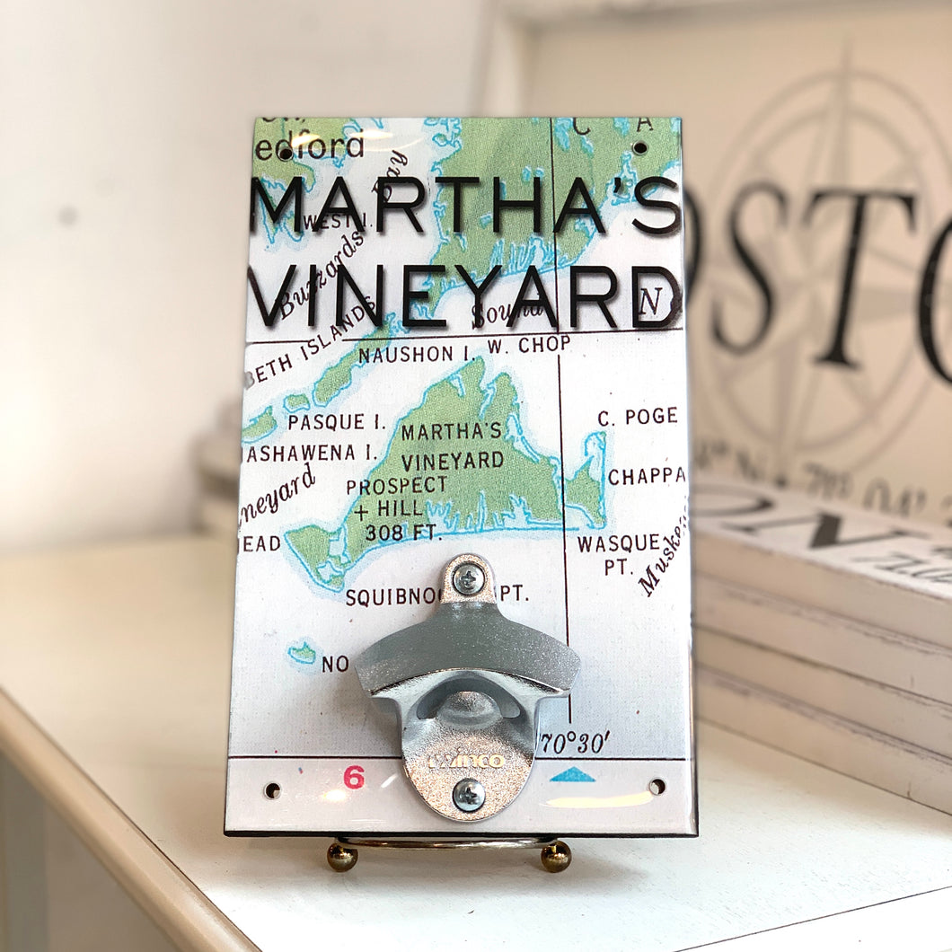 Martha's Vineyard Wall Bottle Opener