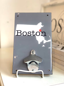 Copy of Entering South End Wall Bottle Opener