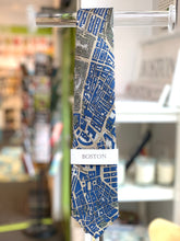 "Load image into Gallery viewer, 100% Silk Civitas Tie ""Boston-Navy"""