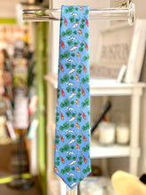 "Load image into Gallery viewer, 100% Silk Tie ""Koi Pond"""