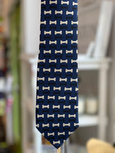 "Load image into Gallery viewer, 100% Silk Tie ""Bones"""