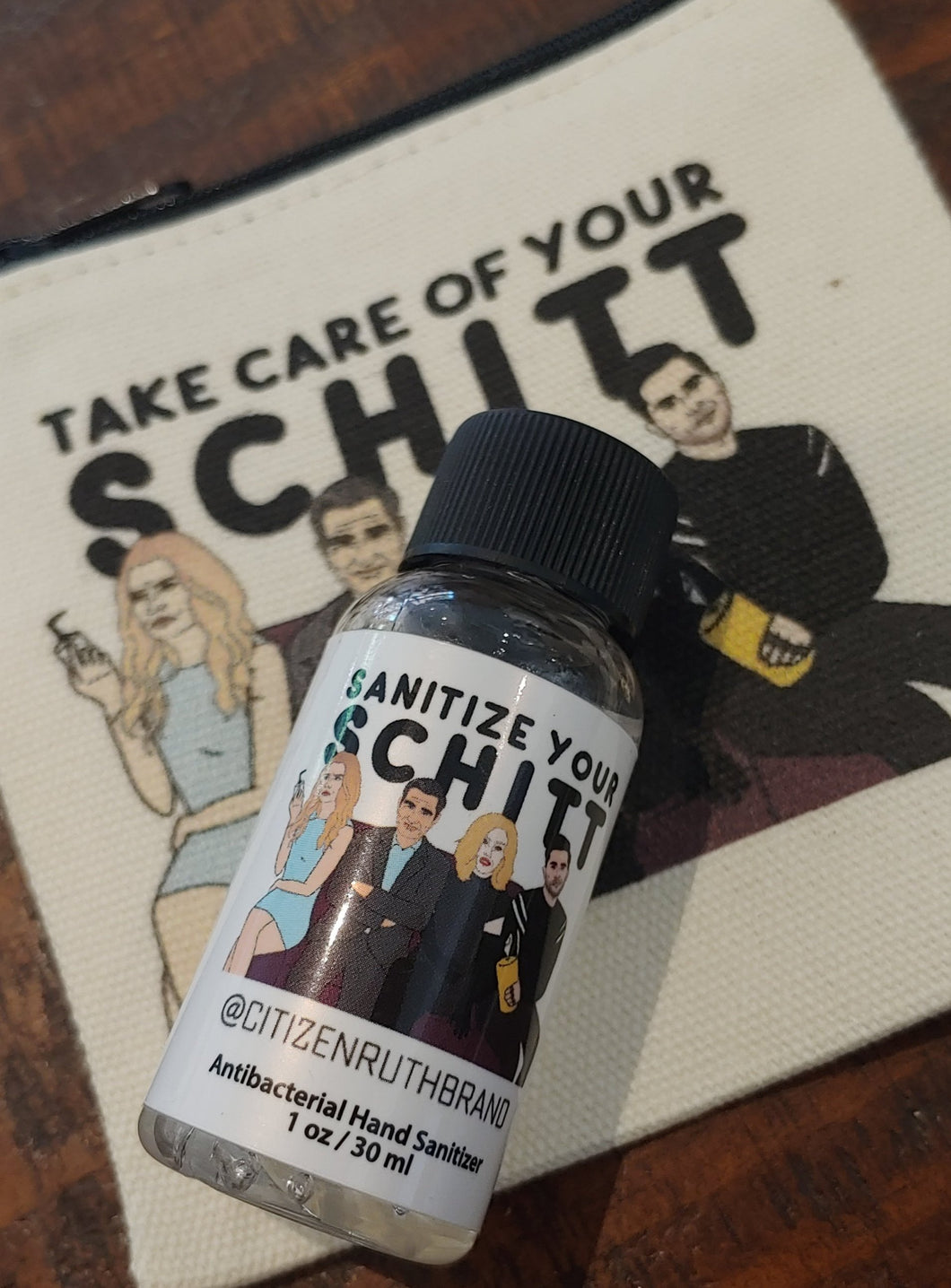 Schitt Kit - 1 oz. Hand Sanitizer & Zip Pouch
