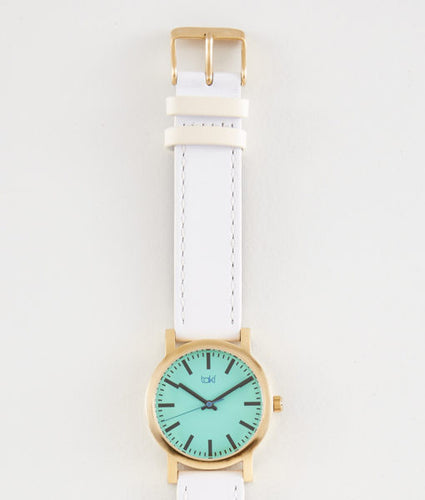 Eden Watch (Teal/White)