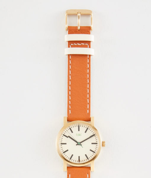 Eden Watch (White/Tan)