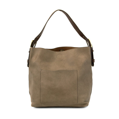 Vegan 2 in 1 Hobo Dark Flax