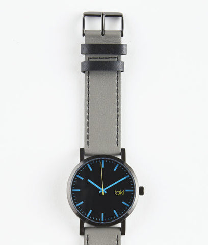 Hugo Watch (Black/Gray)