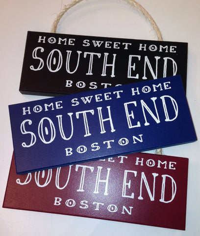 South End Rope Sign