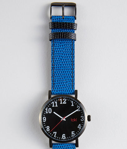 Blue Kasson Taki Watch