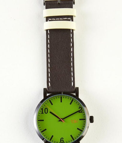 Kenwood Watch (Green/Brown)