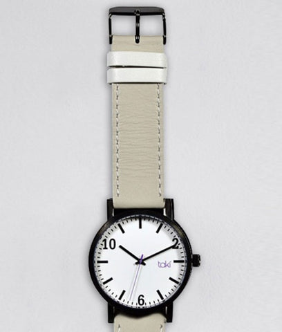 Kenwood Watch (White/Light Gray)