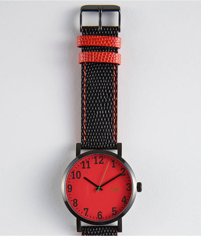 Red Kasson Taki Watch