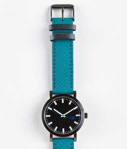 Melrose Watch (Black/Teal)