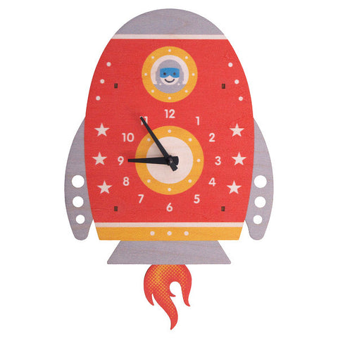 Rocket Pendulum Clock