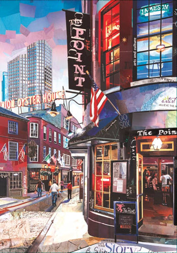 Boston Scene 500 Piece Puzzle