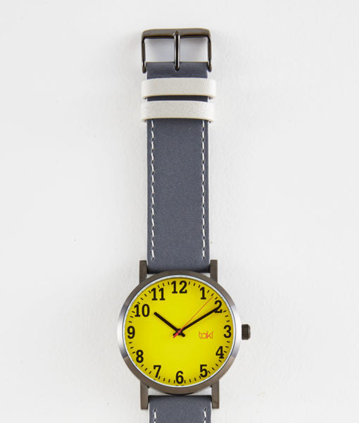 Russell Watch (Yellow/Gray)