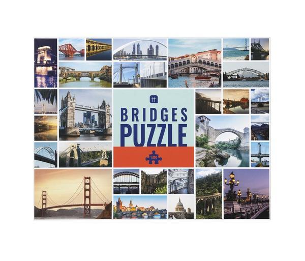 1000 Piece Puzzle - Bridges