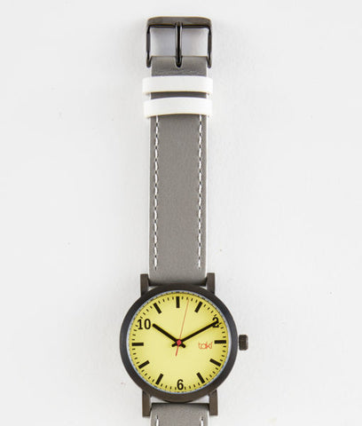 Waverly Watch (Yellow/Gray)