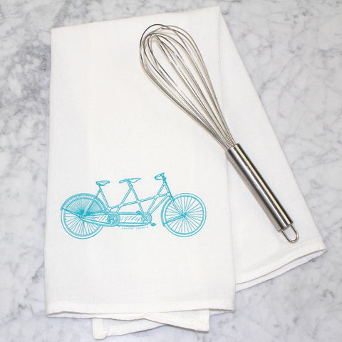 Kitchen Towel Tandem Bike