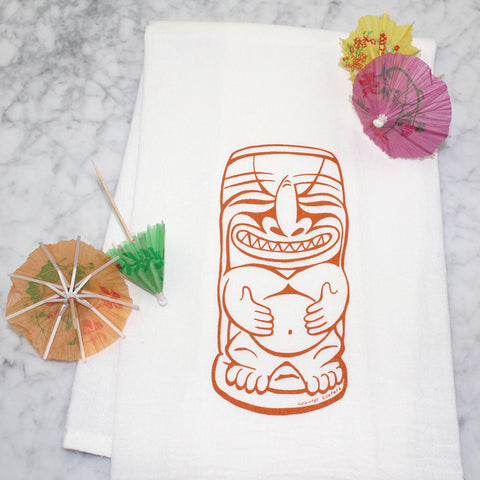 Kitchen Towel Tiki Drink