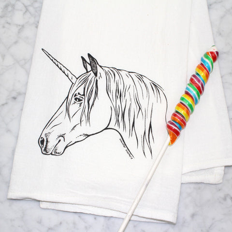 Kitchen Towel Unicorn