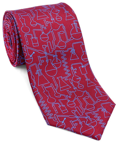 "100% Silk Tie made in NY ""Chemistry"""