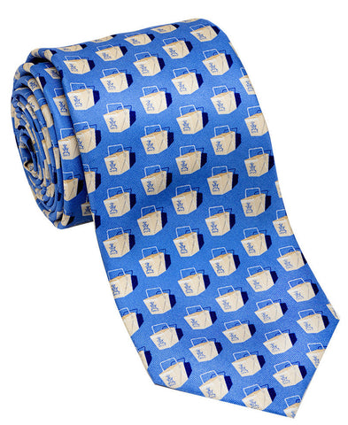 "100% Silk Tie made in NY ""Chinese Takeout"""