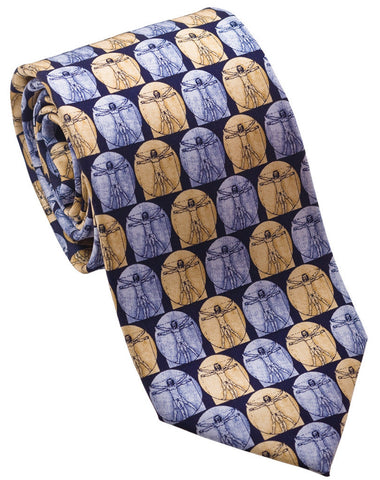 "100% Silk Tie made in NY ""DaVinci"""