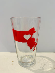 Massachusetts Pint Glass