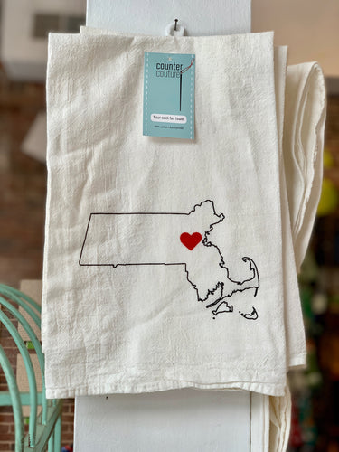 Boston Love Kitchen Towel