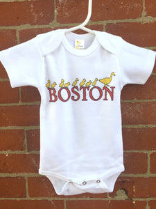 Boston Ducks Onesie