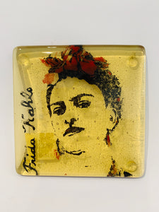 Frida Kahlo Glass Coaster