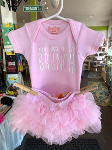 Had me at brunch onesie