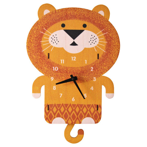 Lion Pendulum Clock