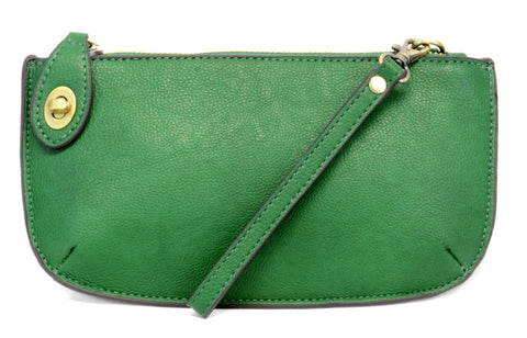Vegan Wristlet/Crossbody Kelly