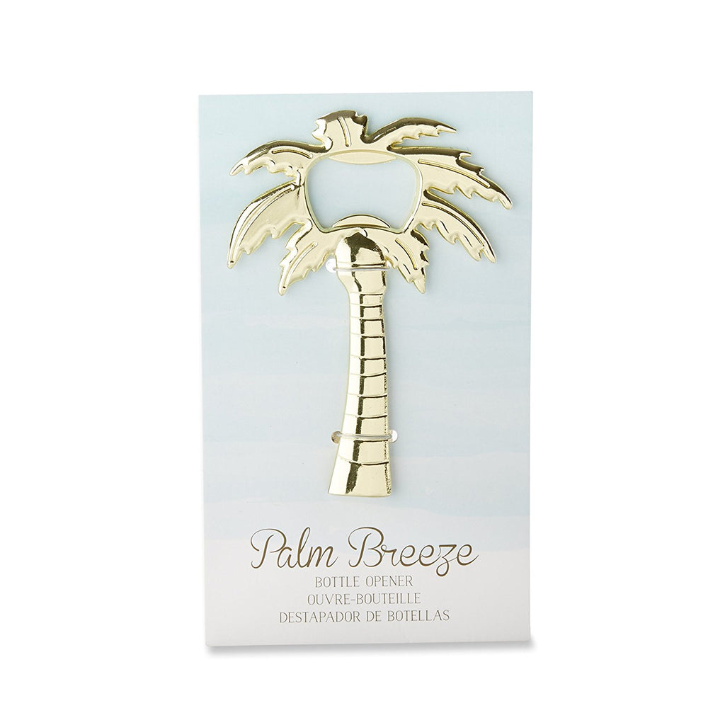 Gold Palm Tree Bottle Opener
