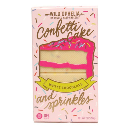 Confetti Cake White Chocolate Bar