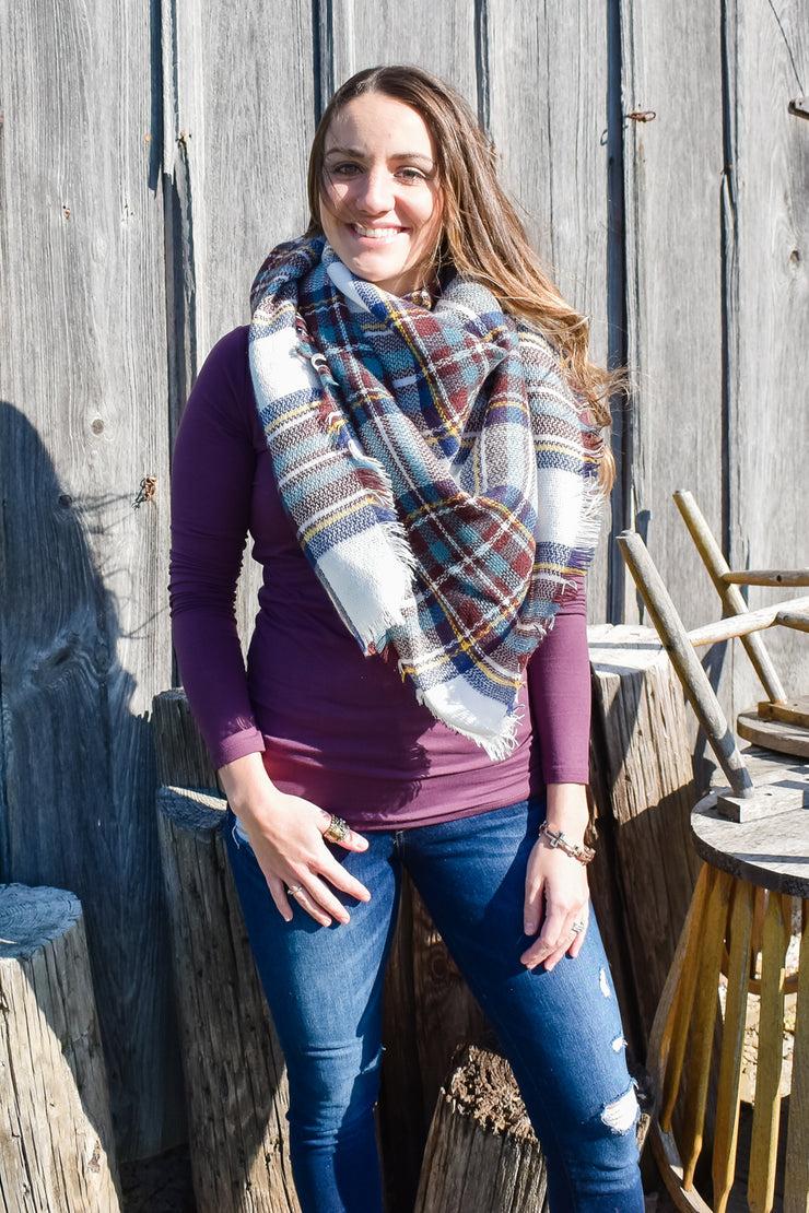 Meet Me in Montana - Blanket Scarf