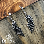 Necklace & Earrings Set - Free As A Bird in Silver