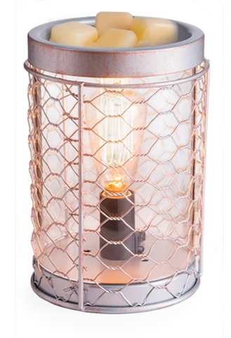 Wax Warmer - Edison Chicken Wire