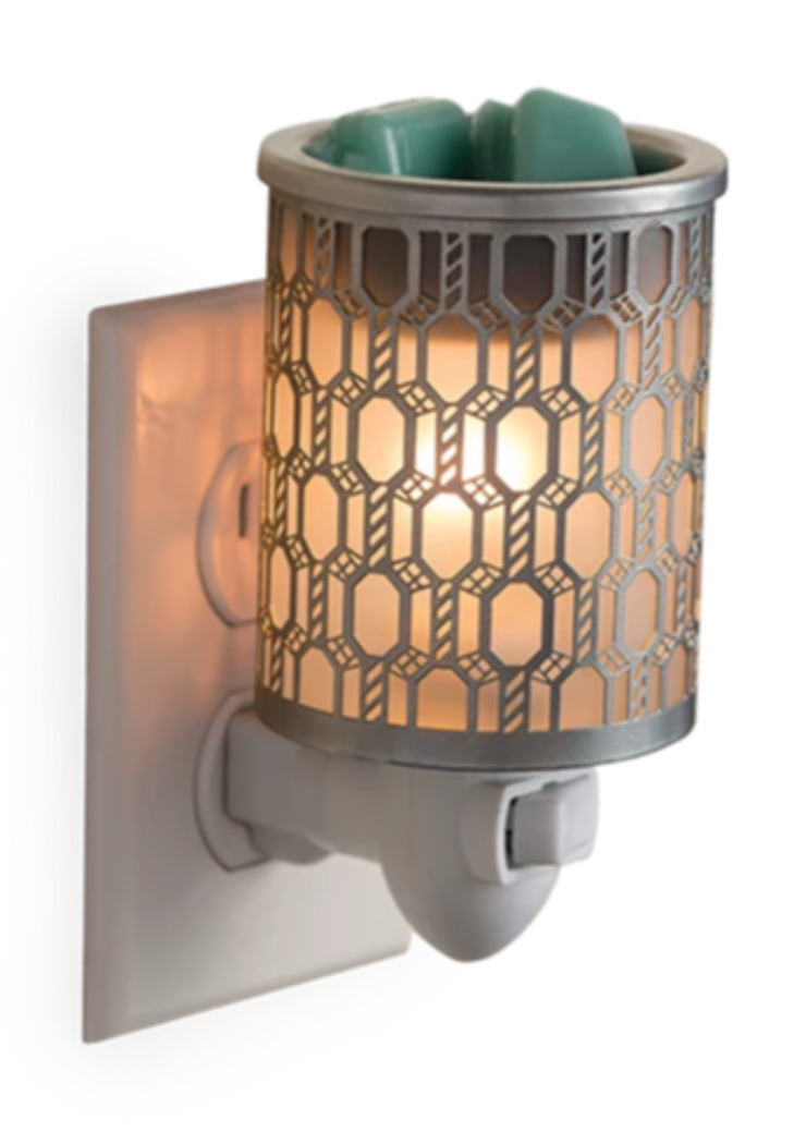 Wax Warmer - Filigree - Plug-in