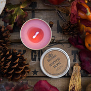 Harvest Moon - Tin - Wooden Wick Candle
