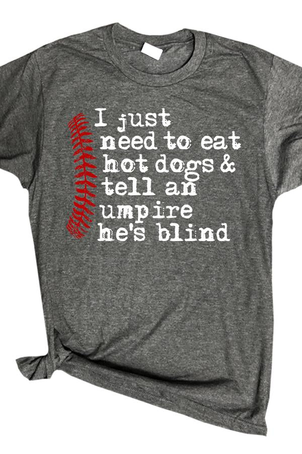 Hotdogs and Umpires - Graphic Tee
