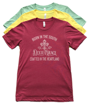 *DEAL* Born in the South - Dixie Grace Logo Shirt - Graphic Tee