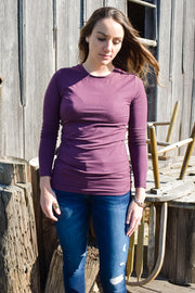 Sugar Plum - Scoop Long Sleeve - Basic